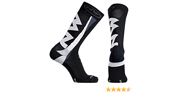 Northwave Extreme Pro Winter Fahrrad Socken rot//schwarz 2020