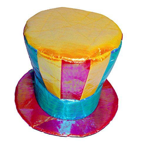 üm Hut Zylinder Hut Kopfbedeckung (Zirkus Clown Kostüme)