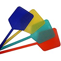 Kingfisher 4 Pack Plastic Fly Swats