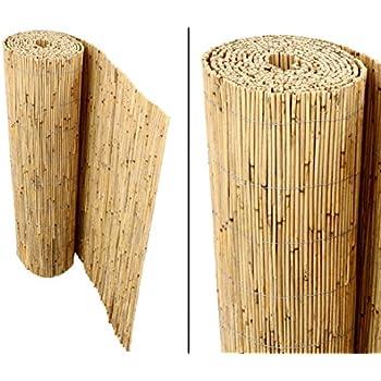 Bambus Discount Schilfrohrmatten Premium Fur Balkon Beach 90 Hoch X 600cm Breit Sichtschutz Matten Windschutzmatten