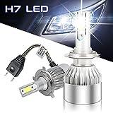 Hltd 72W H7 LED Scheinwerfer-Birnen-Kit, Chip COB...