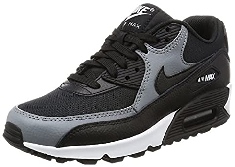 Nike Wmns Air Max 90, Chaussures de Gymnastique Femme, Noir (Black/Black/Cool Grey/Black/White), 41