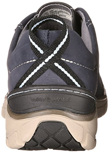 Clarks Wave-Trek-Turnschuh. navy leather