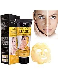 Masque Facial LuckyFine Masque Facial Anti-Rides Nettoyage Profondeur 120ml