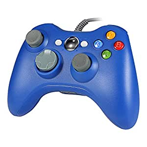 Wetoph - Controller Wired PC GD03 USB Gamepad con slot per cuffie per Xbox360 e PC (Windows XP/7/8/10)