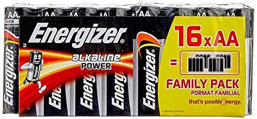 Energizer Batterien AA, Alkaline Power, 16 Stück