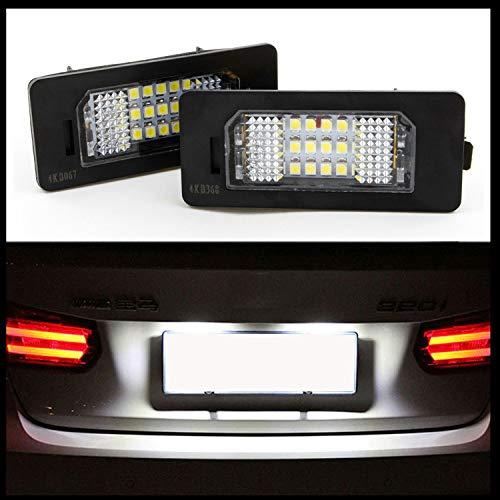 LED SMD Premium Kennzeichenbeleuchtung Kennzeichen Leuchten CanBus E-Prüfzeichen
