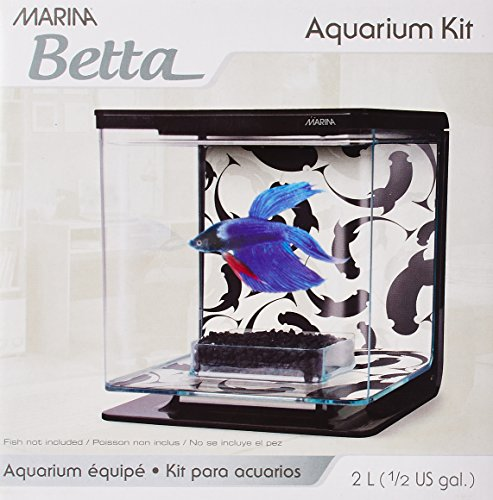 Hagen Marina Betta Aquarium-Starter-Set, Ying/Yang