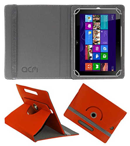 Acm Rotating 360° Leather Flip Case for Hp Elite Pad 900 G1 Cover Stand Orange  available at amazon for Rs.189