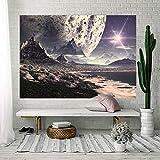MSHTXQ Tapestry Source Star Series Printing Home Canvas Polyester Fiber Tapestry Tarpaulin Beach Towel Beach Blanket 230X150CM