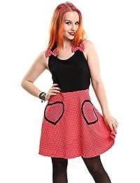 Cupcake Cult Femme Mini robe Polka Dots sans manches–mimmie Rockabilly dos nageur Mini Dress