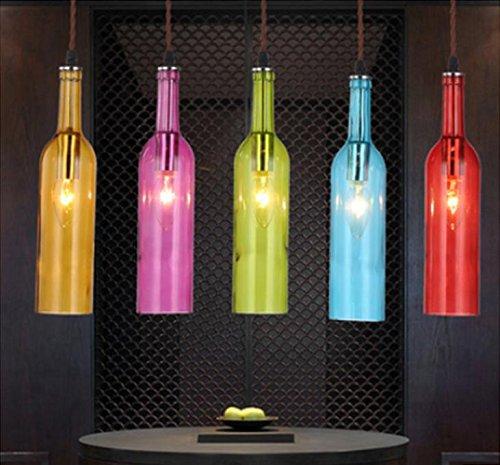 zll-color-chandelier-cafe-american-restaurant-hanging-lighting-glass-color-bottle-bar-the-bar-restau