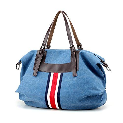 Womens borse,singola spalla /messenger bag/borsa di tela,borsa da viaggio-IL Riso Bianco Blu