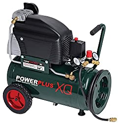 POW XQ8105 electric compressor 10bar, 24 liter tank