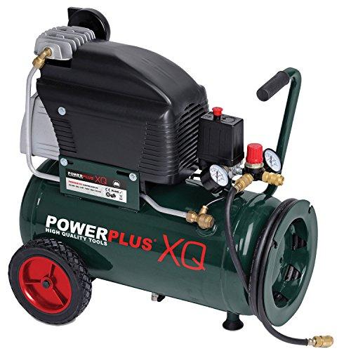 Preisvergleich Produktbild POW XQ8105 Elektro Kompressor 10bar, 24-Liter-Tank
