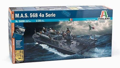 Italeri 510005608 - 1:35 MAS SERIE 568 PRM Edition