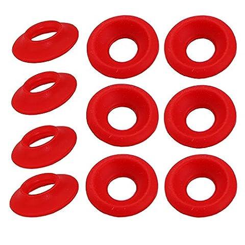 Nouveau Bouchon GROLSCH en silicone EZ Swing Top Bouteille Joint d'étanchéité Rondelle 25Rouge/blanc rouge