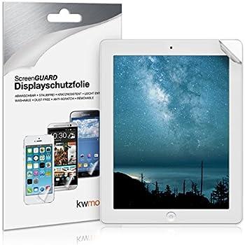 kwmobile Film de protection pour écran MAT et ANTI-REFLETS avec effet anti-traces de doigts pour Apple iPad 2 / 3 / 4