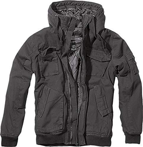 Brandit Bronx Winterjacke Schwarz XL