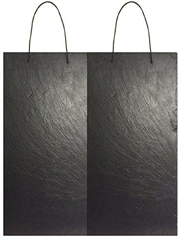 1a Schiefer  Schiefertafel MEMOBOARD Tafel 60x30cm Schieferplatten 2 Stück