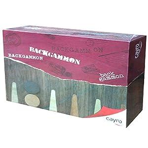 Cayro 609 - Backgammon, Juego de Mesa (06549) - Juego: Maletín Backgamon, Juego de Mesa Infantil/Juvenil