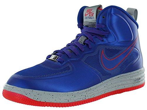 Ver Descuento Lunar Force 1 Fuse) Gioco Reale / lupo grigio / sirena Red scarpe da basket (8) Blu (blu) Venta Paga Con Paypal kUzkilH4C