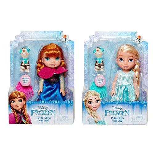 Jakks Pacific Francia-Disney Princess-Muñeca Frozen 15cm-Modelo Aleatorio, 09032-v1