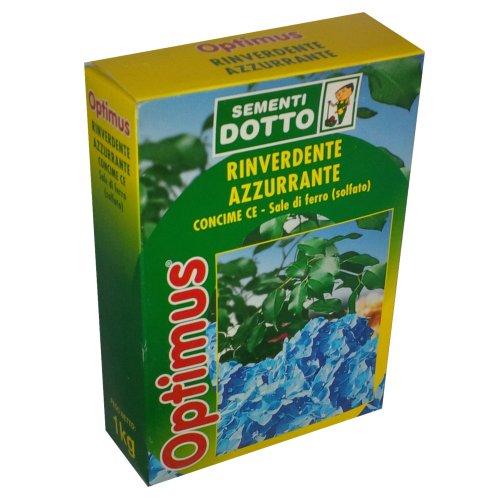 Optimus engrais CE-Sel de fer (sulfate)-verdissant 'azurants-1 kg
