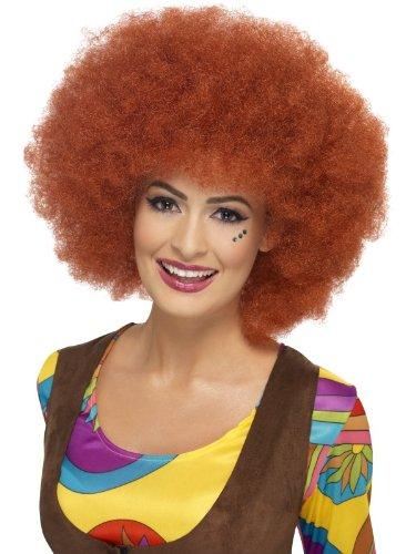 60's Kostüm Erwachsene: Afro-Perücke, (Punk Kostüme Perücke Rocker)