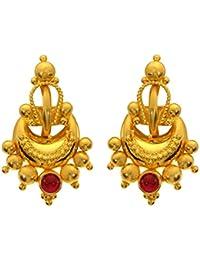 3c490333ede Joyalukkas 22KT (916) Yellow Gold Stud Earrings for Women (BN11200775)
