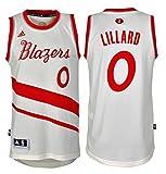 Maillot NBA Swingman Blazers Lillard - Blanc Cassé - Medium
