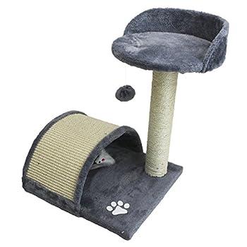 Beauty Pet ® Arbre à Chat, Griffoir 50 cm modèle Ronron - Cinq Coloris - Norme CE