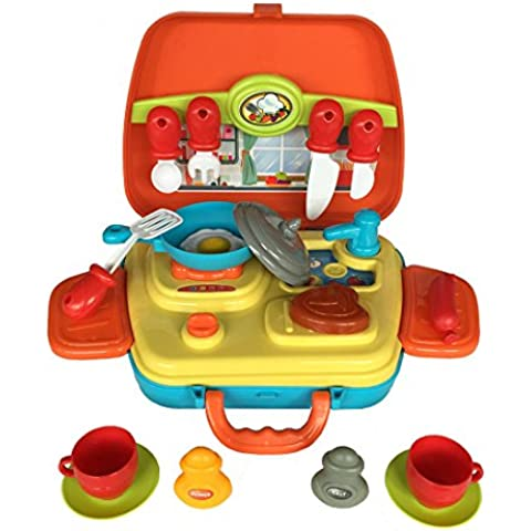 21 piezas Juego de imaginación kits de cocina set de cocina