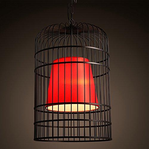 Hauptbeleuchtung Neue chinesische Retro chinesischen Stil Vogelkäfig Schmiedeeisen Esszimmer Beleuchtung Ideen hotpot neo-klassischen Teehäuser Kaffee Kronleuchter 300/400/500 * 460/630/700 mm, L