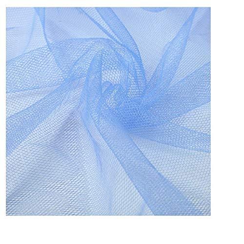 W-shufang, 1 stücke Moustiquaire Baldachin Weiß Vier Eckpfosten Student Baldachin Bett Moskitonetz Netting Königin König Twin Größe (Color : Blue, Size : 90x 190 x 150 cm) -