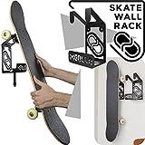 Skateboard Wandhalter (100% Stahl) (schwarz)