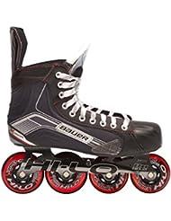 Bauer patines en línea para adultos X400R - Senior Negro negro Talla:08.0 (43.0)