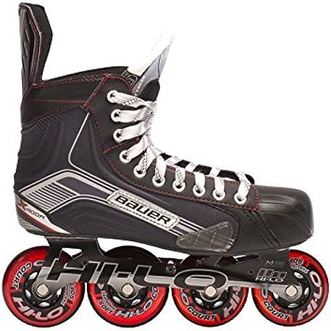 Bauer patines en línea para niños X400R - Junior Negro negro Talla:03.5 (36.5)