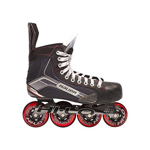 Bauer Erwachsene Inlineskate X400R - Senior, Schwarz, 10.0 (45.5), 1047266 Inline-hockey-skates 10