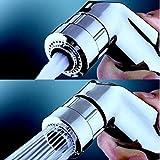 Handbrause - hansgrohe fur wc und toiletts - Handbrause Dusche bidet sprayer set - Duschkopf - Doppel Düsen 'Soft oder Tonic' - fur hygiene - ABS - Chrome - Taharet - Taharat
