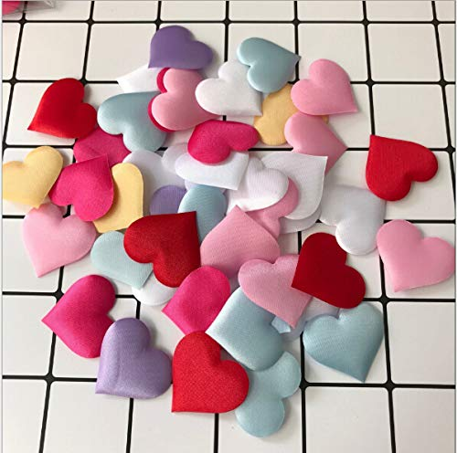 JimTw-FR L'événement Tissu Rembourré De Pétales De Rose Jeter Des Pétales Fournitures Amour Coeur Tableau Mariage Décoration