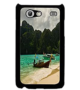 ColourCraft Beautiful Scenery Design Back Case Cover for SAMSUNG GALAXY S ADVANCE I9070