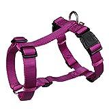Trixie Premium H-Harness für Hunde (S-M) (Beere)