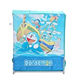 PrettyKrafts Doraemon Printed Multi-Utility Bag - Laundry Box - Storage Box - Toys Organizer - Blue