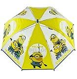 Ich Einfach Unverbesserlich 2 - Kinder Minions Regenschirm transparent