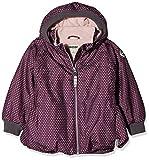 Racoon Mädchen Jacke Solvej dot Winterjacke (Wassersäule 9.000), Mehrfarbig (Dark Purple DAR), 104