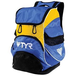 TYR Alliance Team II Backpack, Royal/Gold