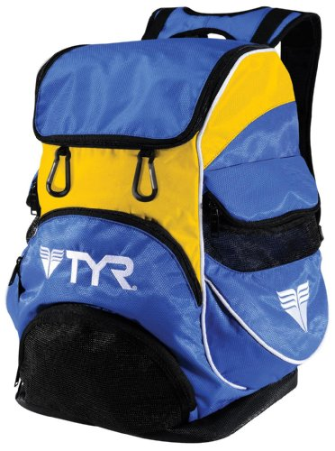 TYR Alliance Team, Rucksack Unisex-Adulto, Unisex - Erwachsene, Blu Royal/Giallo, 47x33x25 cm -