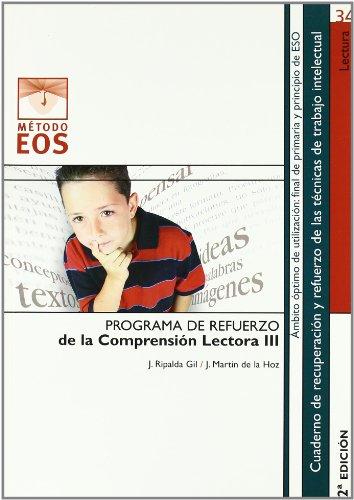Comprensión Lectora III (Método EOS) por Julio Ripalda