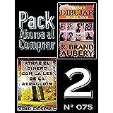 Pack Ahorra al Comprar 2 (Nº 075): Atrae el dinero con la ley de la atracción & Enseña a dibujar en una hora